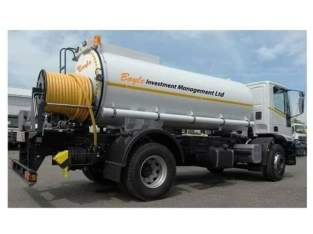 Emptying Septic Tank Pit Latrine And Sewer Line Or Drainage Unblocking