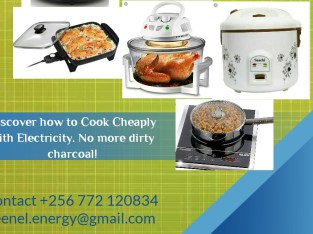 No more charcoal! Acquire knowledge and tools you need to successfully move away from cooking with charcoal to cooking with electricity cheaply