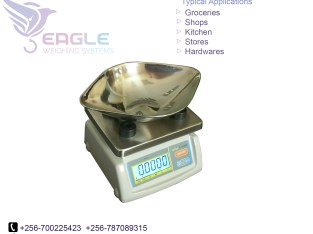 180kg glass top display weighing scales