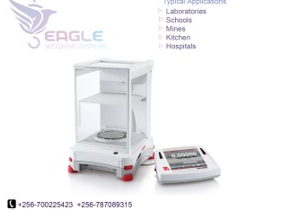 Table top electronic laboratory balance scales
