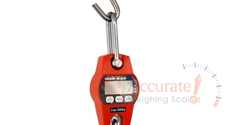 New improved digital Kern crane scales with ease use functions in Rubaga