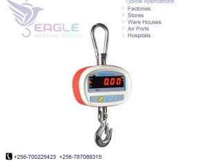 Industrial hanging scale 1 ton 3 ton digital crane scale