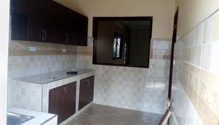 New three bedroom house for sale or rent in Nsube-Nabuuti road, Mukono.