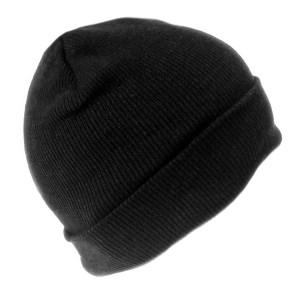 16ad3ba4c99 Men s Knit Winter Hat – Black. 12 Hats