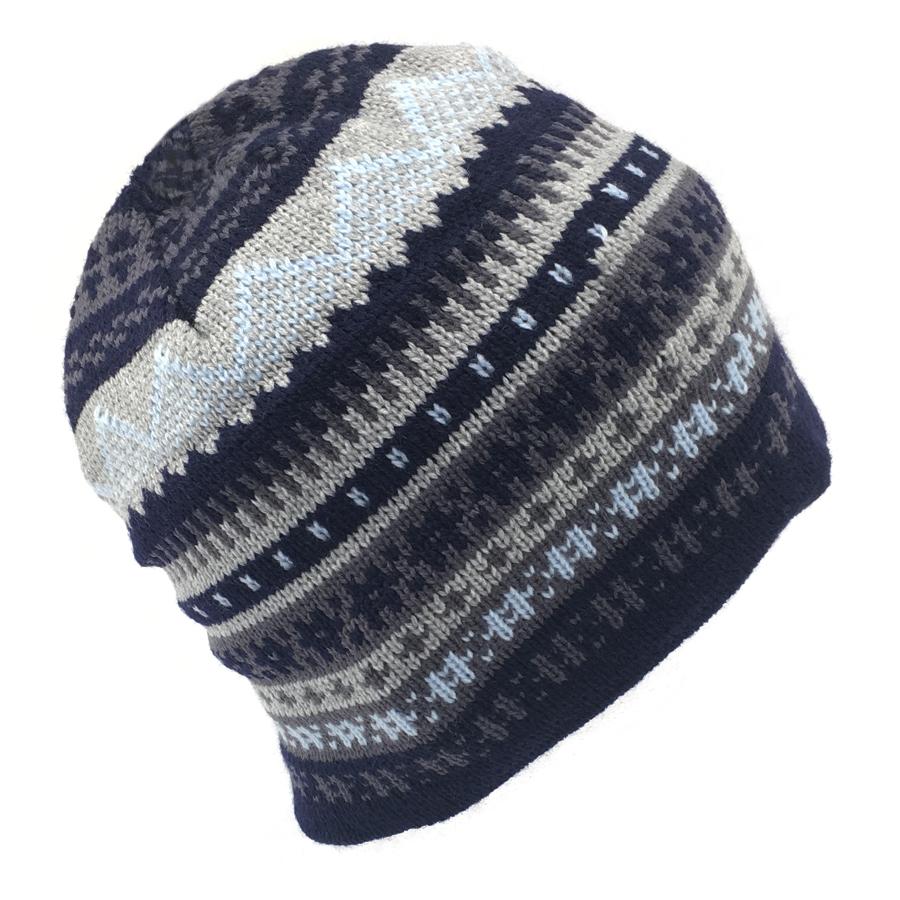 Mens Fairisle Thick Stitch Winter Cap  bd45e04a68d5