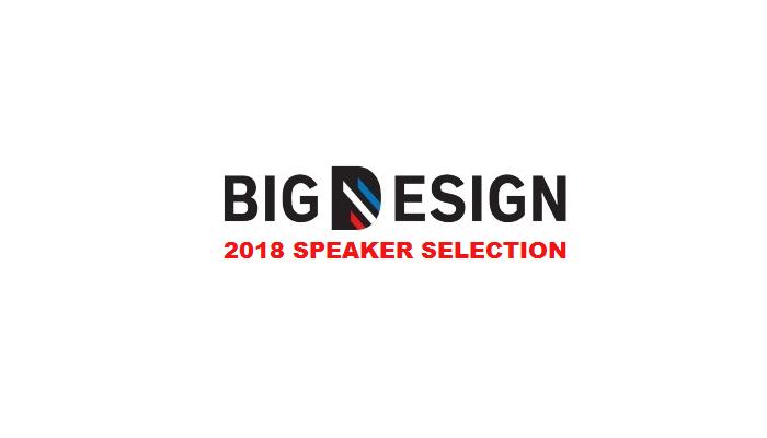 2018 Big Design Speakers