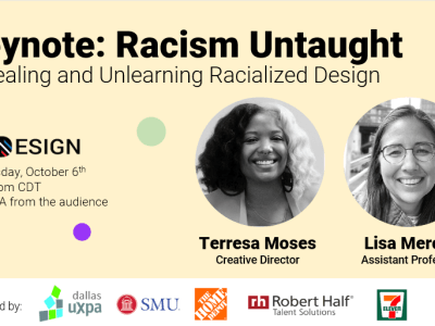 Keynote: Racism Untaught by Lisa Mercer and Terry Moses