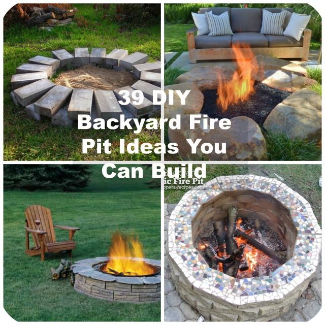 39 DIY Backyard Fire Pit Ideas You Can Build on Backyard Fire Pit Ideas Diy id=44494