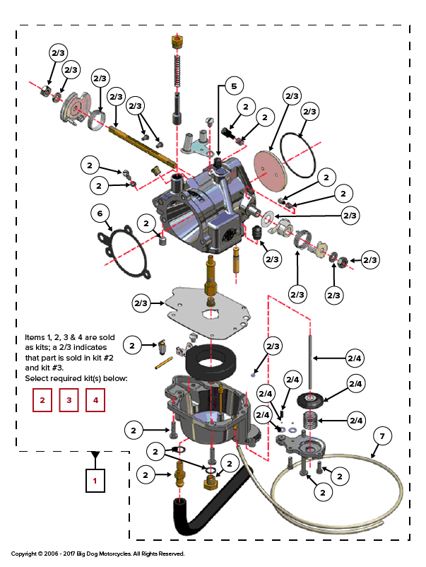 K9CarburetorAssembly crusader 454 parts diagram