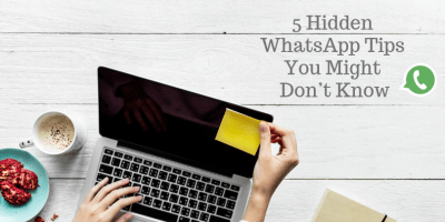 5 Hidden WhatsApp Tips You Might Don't Know 1