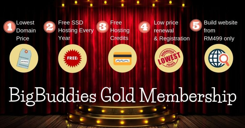 Exclusive Promotion for BigBuddies Gold Member! 1