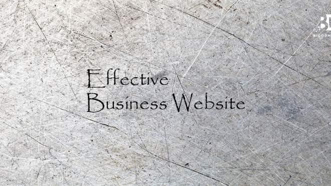 Effective Business Website Be Like…