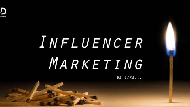Influencer Marketing is getting vital recently...