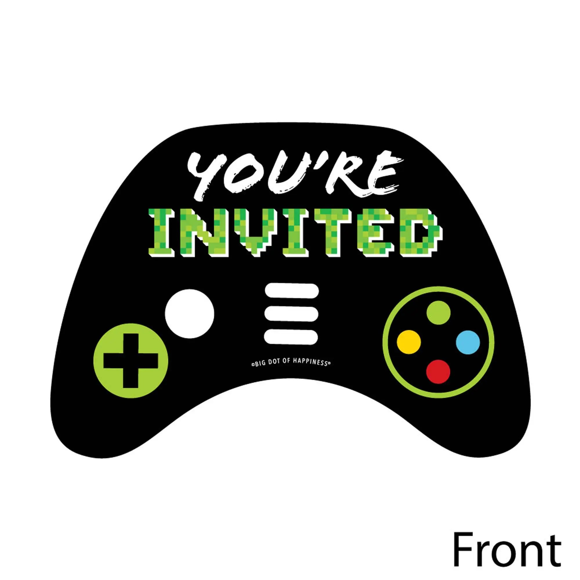 https www bigdotofhappiness com game zone shaped fill in invitations html
