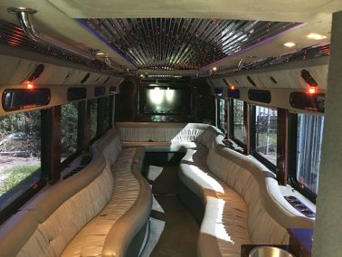 15 interior 7 - 27 Passenger<br>Party Bus</br>Limo #23