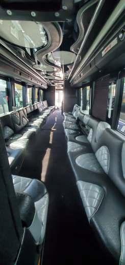 6 60 - 53 Passenger<br>VIP Tour Party Bus</br>Limo #60
