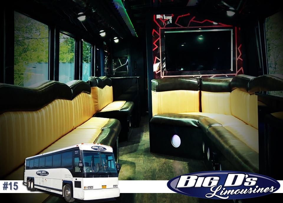 fleet bus 15 - 34 Passenger<br>VIP Tour Party Bus</br>Limo #15