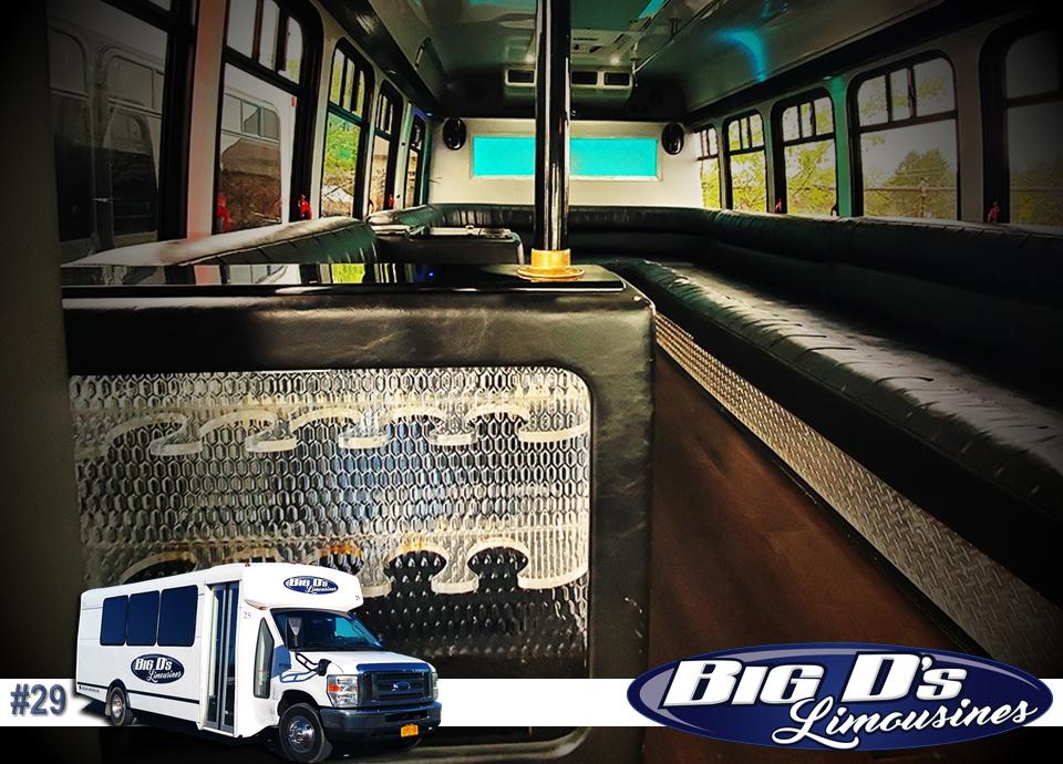 fleet bus 29 - 16 Passenger<br>450 Party Bus</br>Limo #29