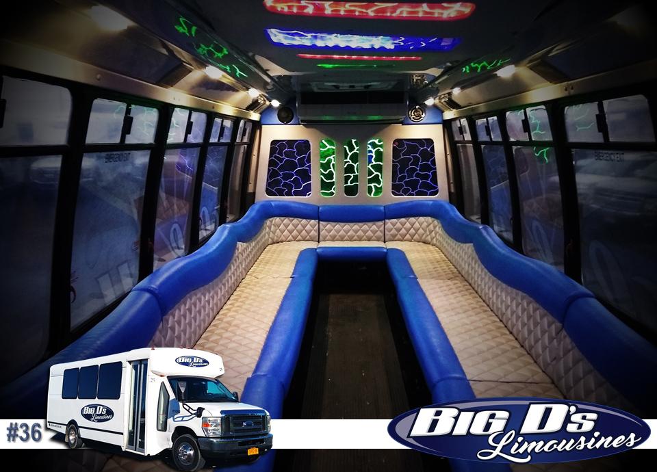 fleet bus 36 - 22 Passenger<br>450 Party Bus</br>Limo #36
