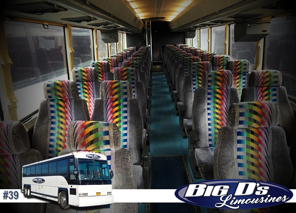 fleet bus 39 - 37 Passenger<br>Coach Tour Bus</br>Limo #39