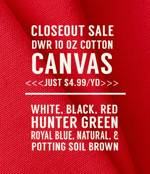 Dwr Closeout Sale