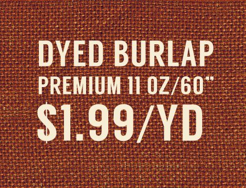 Burlap Fabric Discount Wholesale Supplier
