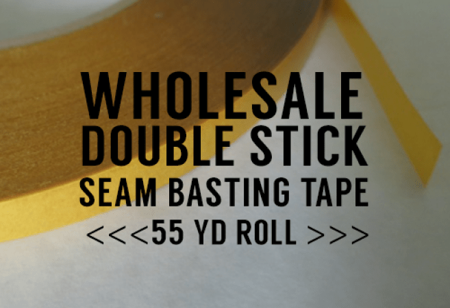 seam basting double sided tape wholesale