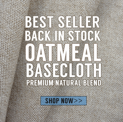 12oz Oatmeal Basecloth is BACK!