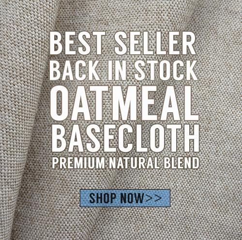 12oz Oatmeal Basecloth is BACK!