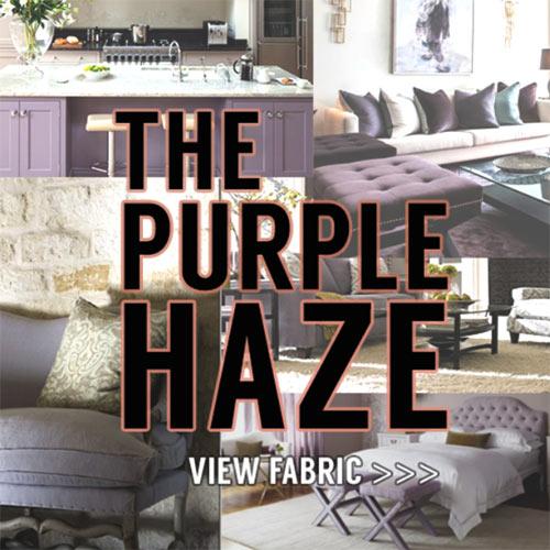 Custom Purple Fabric 2018 Color of Year