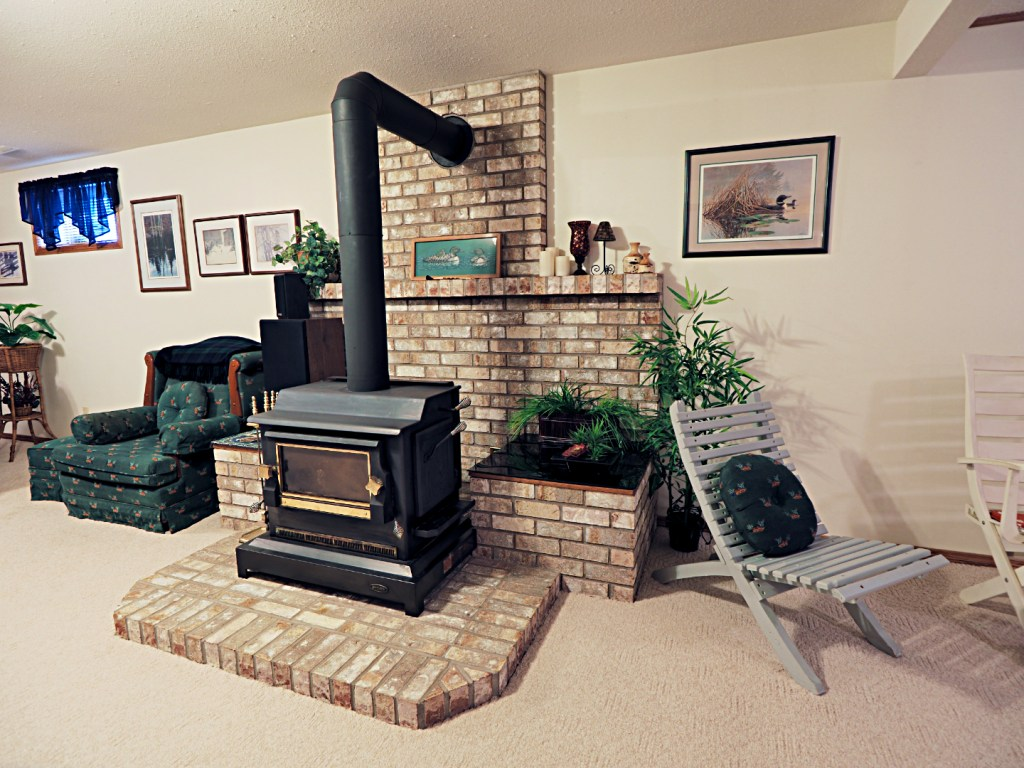 Fireplace at 19 Elder