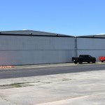 Hangar with door shut