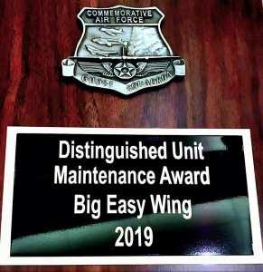 Unit Maintenance Award