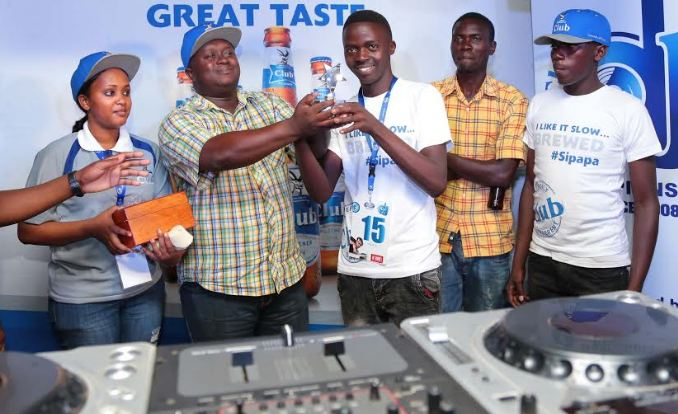 Club DJ Award championship in Mbale