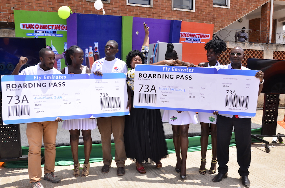 six loyal customers of Pepsi have won fully paid trips to Dubai in the United Arab Emirates.