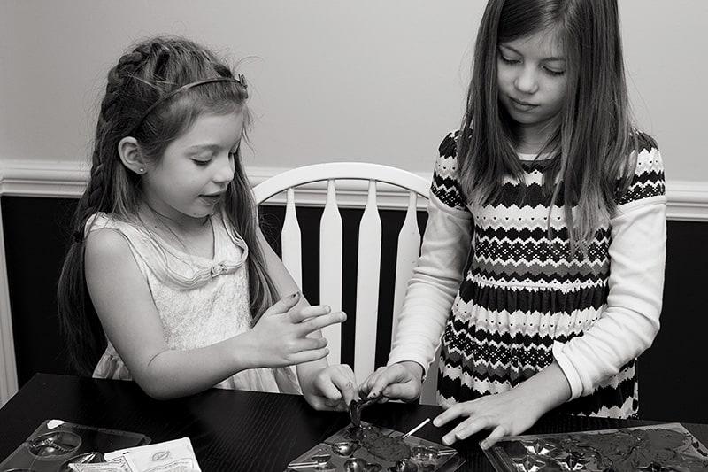 Girls Baking