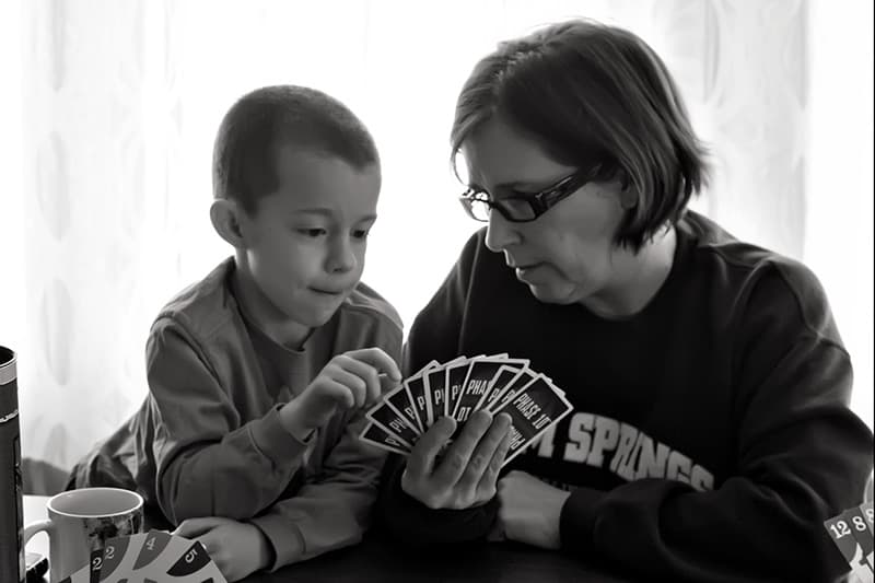 Cards with Grandma