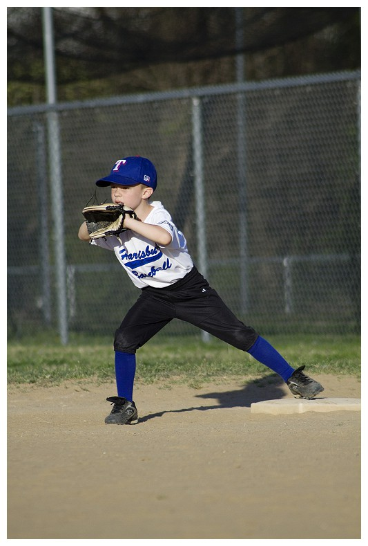 Wordless Wednesday — First T-Ball Game