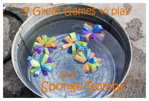 Sponge Bomb Game Ideas