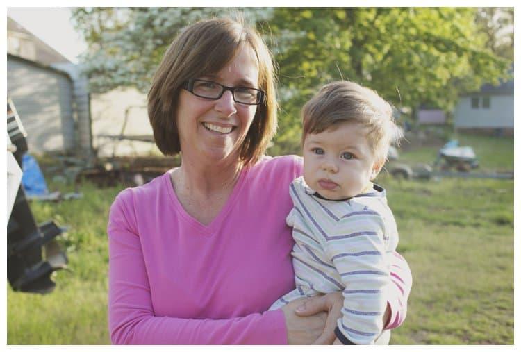 Grandma and Jonathan