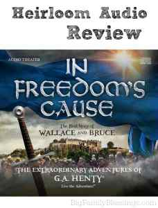 Heirloom Audio Productions – In Freedom's Cause {Review}