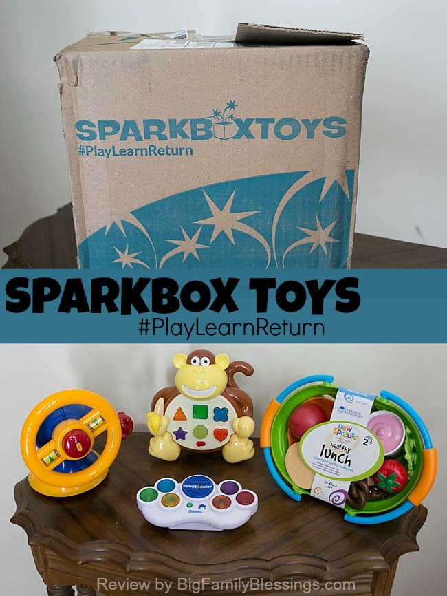 Smartbox Toys Review #PlayLearnReturn.