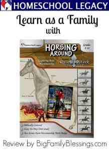 Horsing Around Once-a-Week Unit Study {Review}