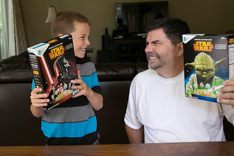 What side are you on? Star Wars Cereal