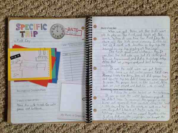 Exploring Creation Field Trip Journal by Apologia