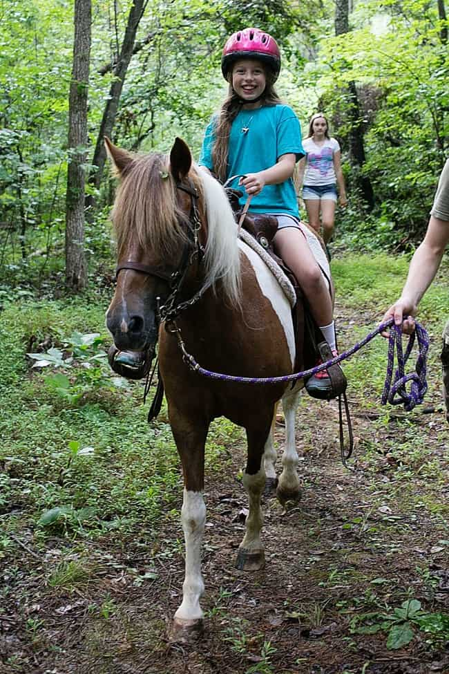 Dreams come true horse trail riding