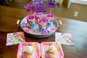 Disney Princess Crown Wand Party Craft and Favor Tutorial