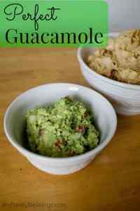 Perfect Guacamole