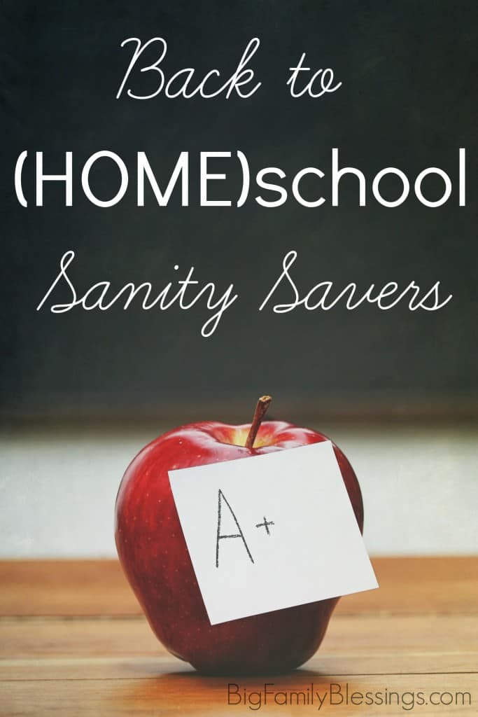Tips for a smooth homeschool year from a homeschooling Mom of 6! Save your sanity, and keep your school and home running smooth without stress or frustration this school year.