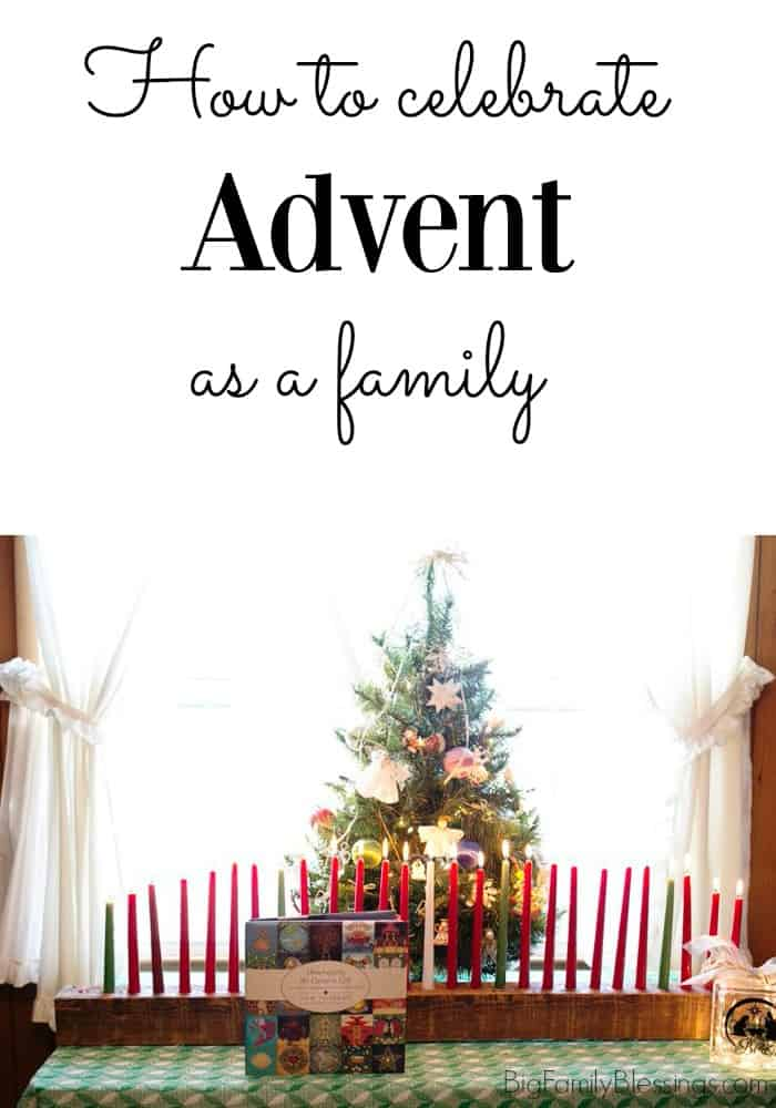 How to celebrate Advent as a family
